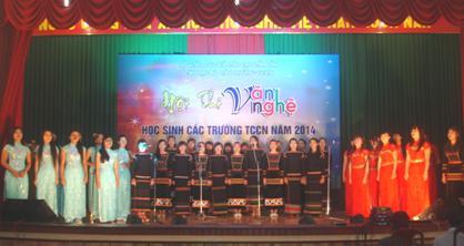 Hội thi Văn nghệ học sinh các trường trung cấp chuyên nghiệp năm 2014